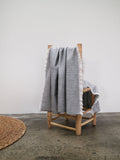 Fringed Throw - Grey
