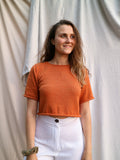 Maya Crop - Burnt Orange