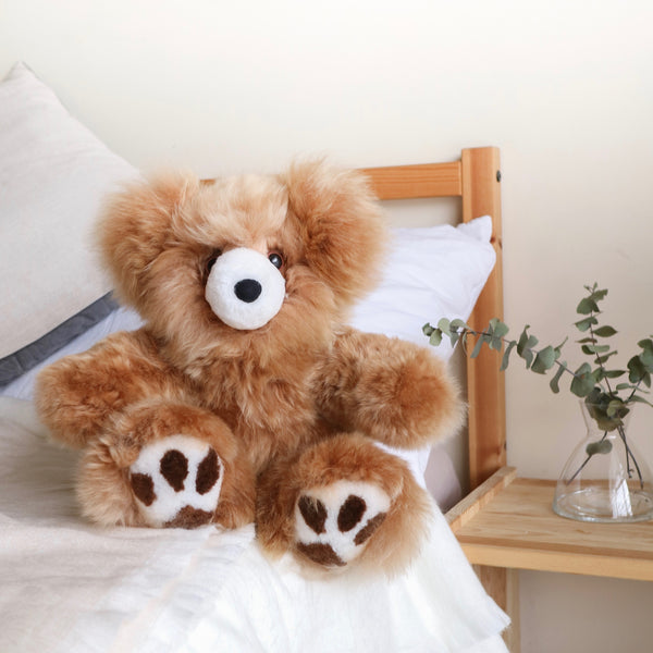 Toy Bear - Large Luxe Huacaya