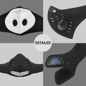 'Face Shield' 5 Layer Activated Carbon Filter - allgasnobrakez.com