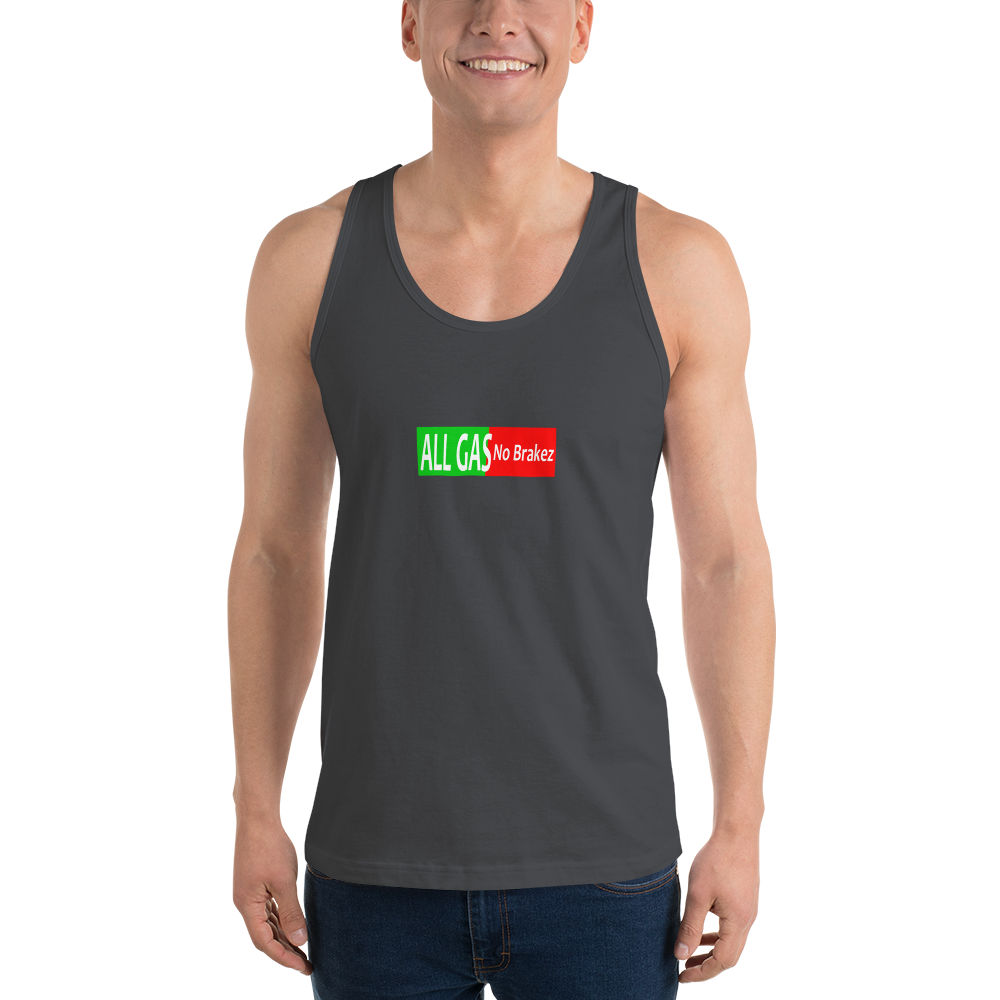"""All Gas"" Classic tank top (unisex) - allgasnobrakez.com"