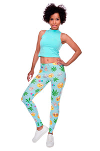 """Smacked"" Leggings - All Gas No Brakez"