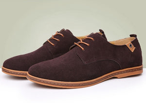 """ZXQ's""  Suede/Leather Oxfords - allgasnobrakez.com"