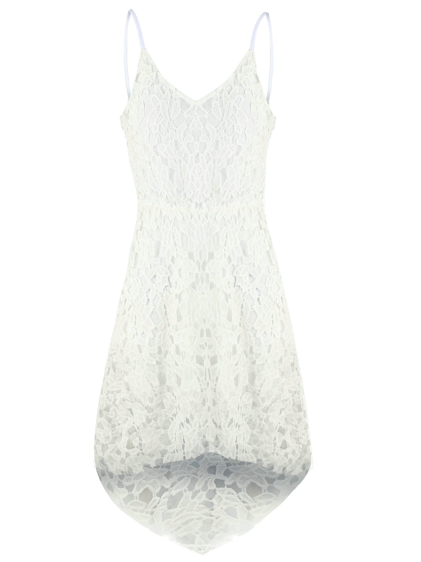 """Pretty In Lace"" Spaghetti Strap Dress - allgasnobrakez.com"