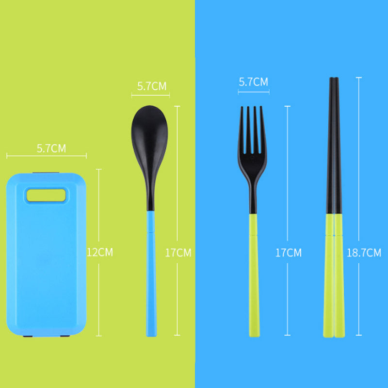 """Utensil Travel Kit"" - allgasnobrakez.com"