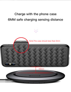 """UFO"" Wireless Charger For iPhone X 8 Samsung Note8 S9 S8 - allgasnobrakez.com"