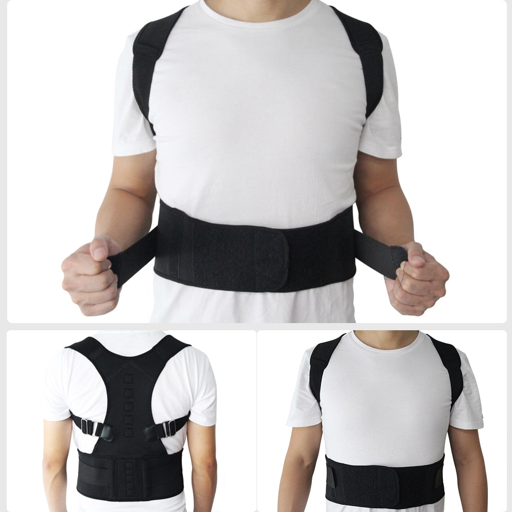 Elite™ Magnetic Therapy Posture Corrector Brace - All Gas No Brakez
