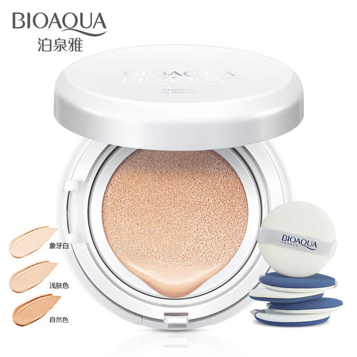 Moisturizing Foundation Flawless Makeup Sunscreen Air Cushion BB Cream Concealer Bare For Face - W&C Shop
