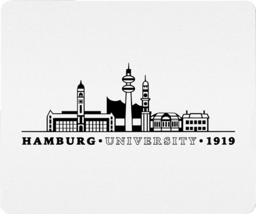 Mousepad Hamburg Skyline