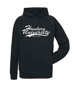 Hoody Organic Line Hamburg University - Black