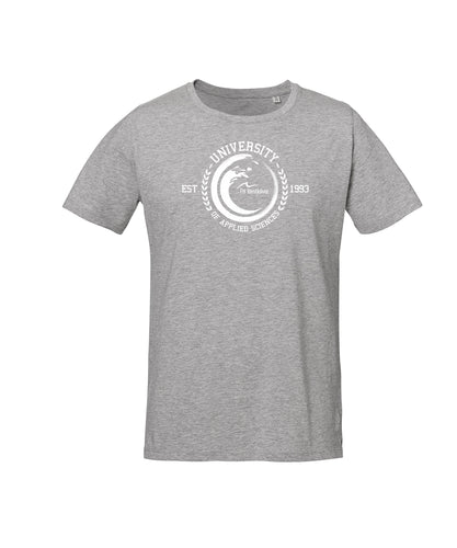 T-Shirt Organic Line FH Westküste Heide - Heather Grey