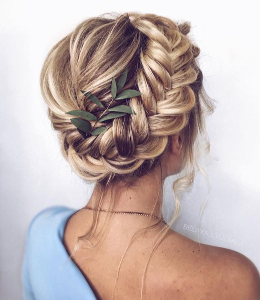 milkmaid braid tutorial