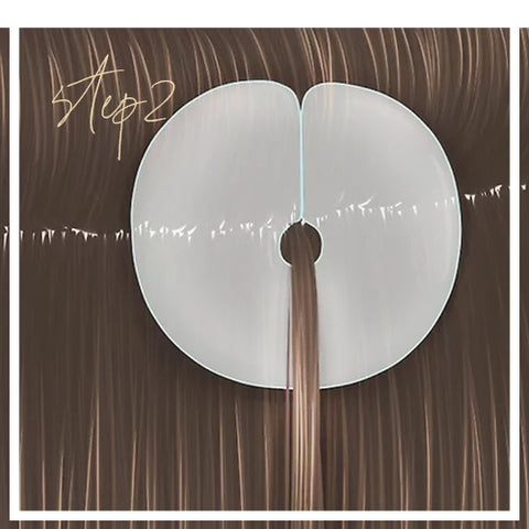 How to aplay Keratin Bonded Extensions