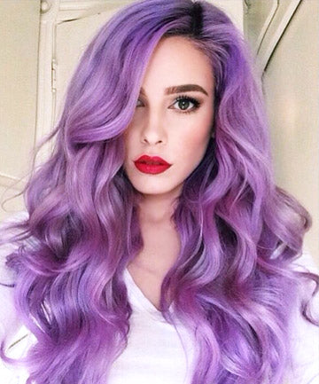 Lilac Purple Hair Extensions