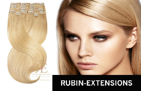 best and popular clip in hair extensions honey blond