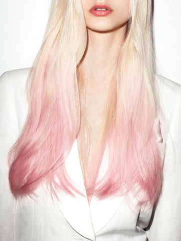 Pastel Pink Hair Extensions