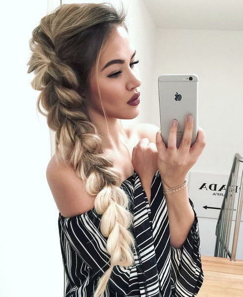 Thick Side Braid Tutorial