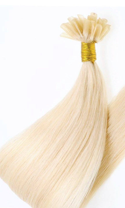 Premium Line Golden Queen Keratin Bondings Hair Extensions