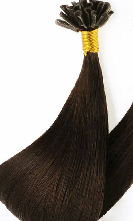 Chocolate Roast Brown Keratin Bondings Hair Extensions Australia