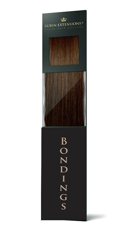 Chestnut Flash Brown Keratin Bondings Hair Extensions Australia