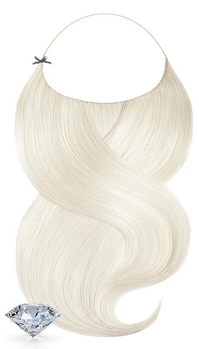 Pure Diamonds Line Pearl Blonde One Piece Hair Extensions