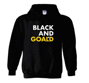 Black and Goald Hoodie
