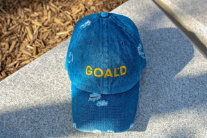 GOALD Distressed Dad Hats