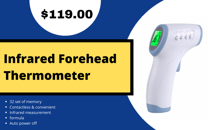 Infrared Forehead Thermpmeter