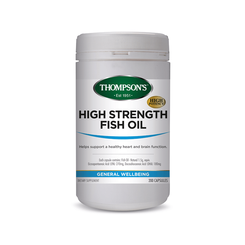 Thompson's High Strength Fish Oil 1500mg