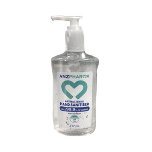 ANZP Hand Sanitiser 237ml Gel Pump