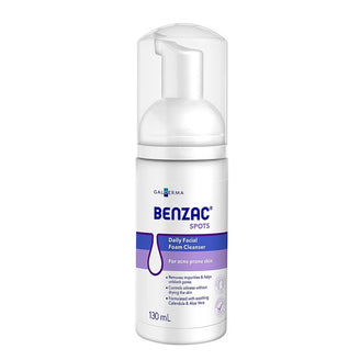 Benzac Spots Daily Facial Foam Cleanser 130ml