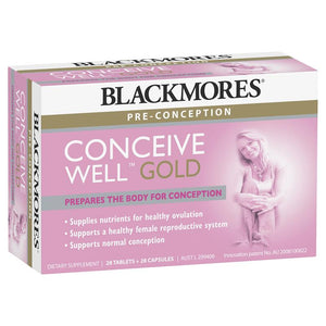 Blackmores Conceive Well Gold Capsules + Tablets 28/28