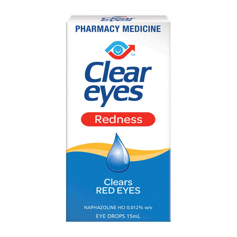 Clear Eyes Redness Drops 15ml