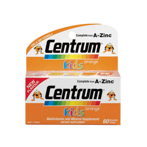 Centrum Kids Orange Chew Multi Vitamin