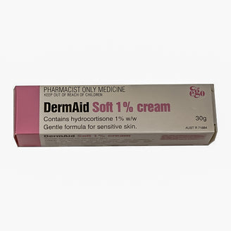 DermAid Soft 1% Cream 30g