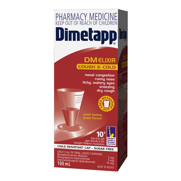 Dimetapp Cough & Cold DM 200ml