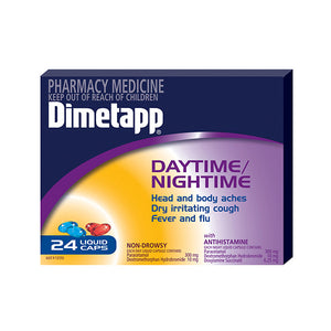 Dimetapp Day/Night Pse Free Liquid Capsules