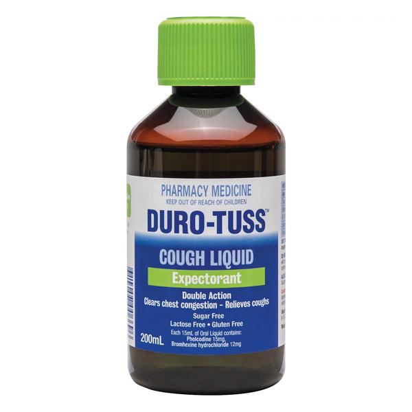 Duro-Tuss Cough Expectorant Liquid 200ml