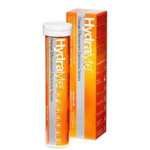 Hydralyte Effervescent Tablets - Orange 20s
