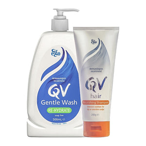 Ego QV Gentle Wash & Nourishing Shampoo
