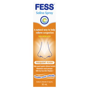 Fess  Saline Frequent Flyer Nasal Spray 30ml