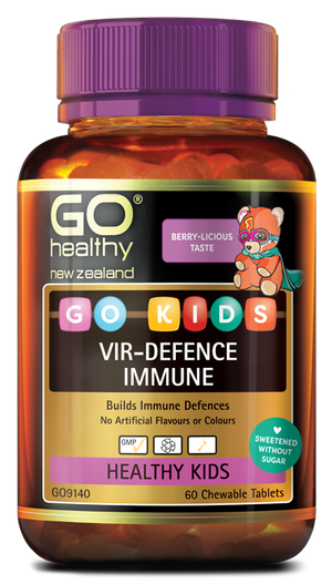 Go Kids Vir-Defence Immune 60 chewable tablets