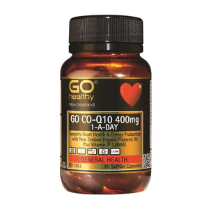 Go CO-Q10 400mg One-A-Day