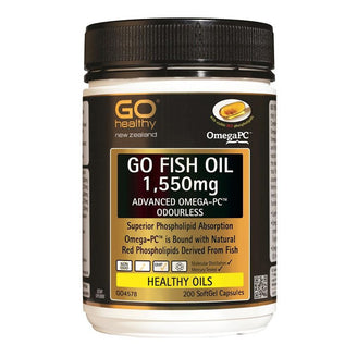 Go Fish Oil 1,550mg Advanced Omega PC 200