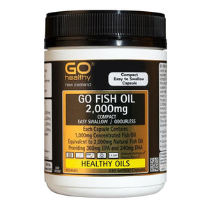 Go Fish Oil 2,000mg Odourless 230caps