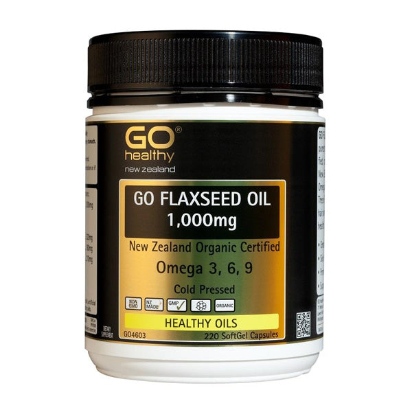 Go Flaxseed Oil 1000mg