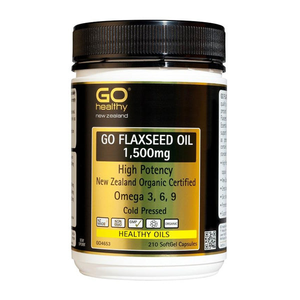Go Flaxseed Oil 1500mg