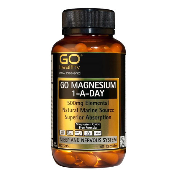 Go Magnesium One-A-Day 500mg