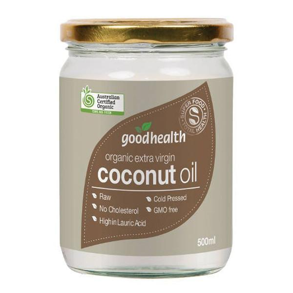 Good Health Organic Extra Virgin Coconut Oil 500ml