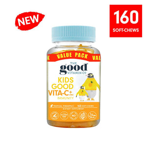 The Good Vitamin Vita C & Zinc 160's